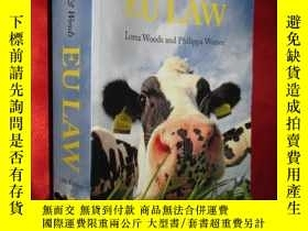 二手書博民逛書店Steiner罕見& Woods EU Law 12th Edi