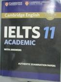 【書寶二手書T5/語言學習_WFG】Cambridge IELTS 11 Academic Student s Book