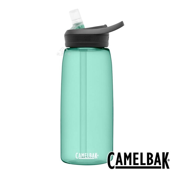 『VENUM旗艦店』【CAMELBAK 】EDDY+ 多水吸管水瓶1000ml-海藍綠 RENEW 2464301001