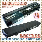 ACER電池-宏碁電池-TRAVELMATE 3000電池,3010,3020,3030,3040,3001,3002,3012,3022,TM3000電池