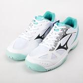 Mizuno  CYCLONE SPEED 2  女 排球鞋白/淺綠 V1GC198013