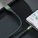 Mcdodo iPhone/Lightning充電線傳輸線編織線 Pin頭 LED指示燈 微笑系列 180cm 麥多多