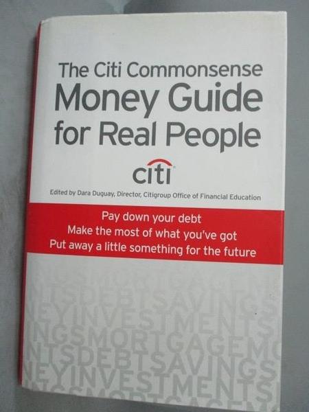 【書寶二手書T9/財經企管_XGU】The Citi Commonsense Money Guide…_Duguay,