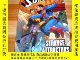二手書博民逛書店【SUPERMAN:STRANGE罕見ATTRACTORS】 超人:奇怪的吸引力 漫畫 (超人與北極星博士,