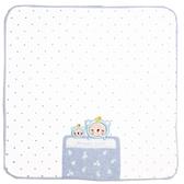 【日本製】【anano cafe】日本製 嬰幼兒寶寶手帕巾 睡覺覺圖案 藍色(一組:3個) SD-2960 - 日本製