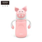 【仙德曼 SADOMAIN】巧豬兒童學習保溫壺(300ml)300ML