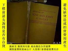 二手書博民逛書店journal罕見of bone and joint surge