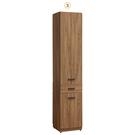 【森可家居】亞伯斯1.32尺木門玄關櫃10ZX416-6雙面櫃 書櫃 展示收納櫃 鞋櫃 MIT