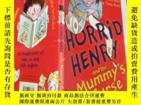 二手書博民逛書店horrid罕見henry and the mummy s curse 可怕的亨 利和木乃伊的詛 咒..,Y