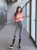 秋冬新款運動褲女高腰收腹彈力顯瘦緊身跑步褲蜜桃提臀瑜伽健身褲  【夏日新品】
