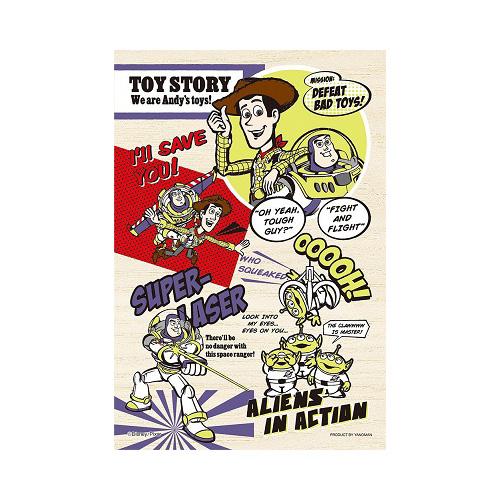 【日本進口拼圖】木製拼圖 迪士尼 Disney 玩具總動員 Yanoman (99片) YM99-380