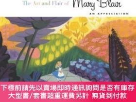 二手書博民逛書店The罕見Art And Flair Of Mary BlairY255174 John Canemaker