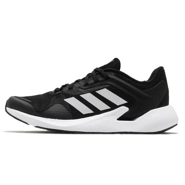 ADIDAS ALPHATORSION 360 運動女鞋愛迪達三線透氣反光球鞋穿搭黑白EG9596【FEEL 9S】
