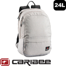 【Caribee 澳洲 RUSH 24L電腦背包《灰》】CE-6104/自助旅行/筆電背包/後背包手提包/行李包