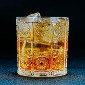酒吧傳奇 捷克花紋造型古典威士忌杯 刻花古典杯 洛克杯 雞尾酒杯 電購3C