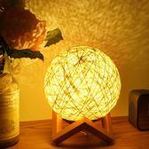 小夜燈usb插電臥室床頭燈睡眠 ins檯燈星空投影燈浪漫月亮月球燈【 新店開張八五折促銷】