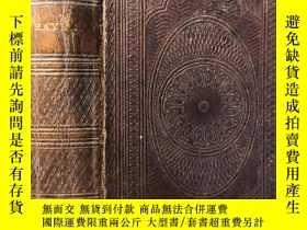 二手書博民逛書店1861年罕見THE COMMON ORAYER TOGETHER WITH THE PSALTER 雙面壓花飾圖