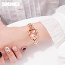 skmei手錶女士學生韓版簡約時尚潮流防水石英女錶抖音網紅同款