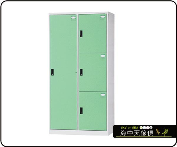 {{ 海中天休閒傢俱廣場 }} F-99 摩登時尚 HDF多功能置物櫃系列 HDF-2514B 五人用置物櫃