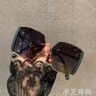 2021韓版新款大框方形潮偏光墨鏡女大臉遮陽開車駕駛街拍太陽眼鏡 小艾新品