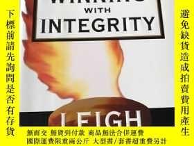 二手書博民逛書店winning罕見with integrityY20850 le