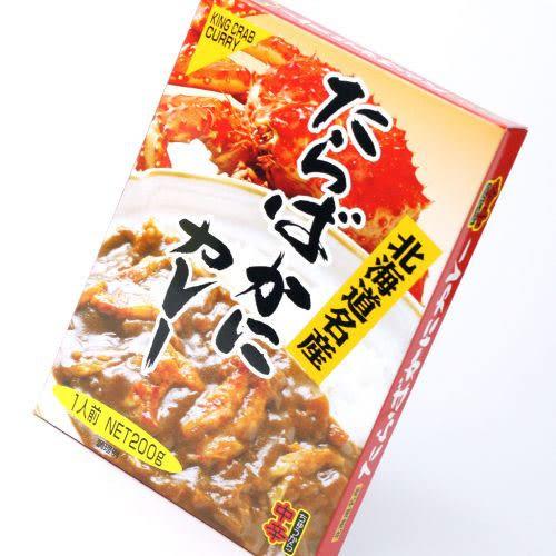 北海道帝王蟹 咖哩調理包 中辛 200g 日本帶回
