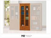 【MK億騰傢俱】ES612-02蘇格蘭檜木實木3*6.5尺下抽書櫃