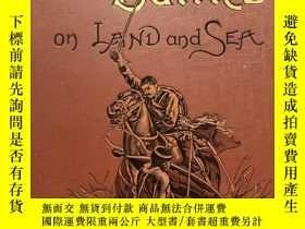 二手書博民逛書店British罕見battle on land and sea(