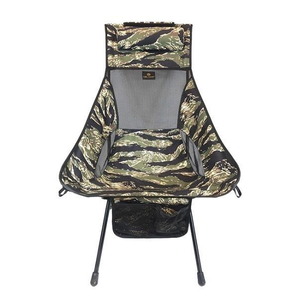 【南紡購物中心】【Owl Camp】LN-1723虎斑迷彩高背椅