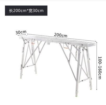 馬登腳手架廠家直銷多功能工程升降加厚折疊梯子裝修架子馬凳