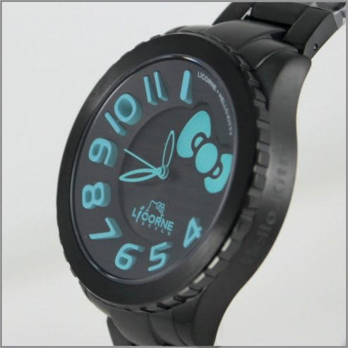 【萬年鐘錶】 LICORNE+ HELLO KITTY 聯名款 LI085MBBA-N