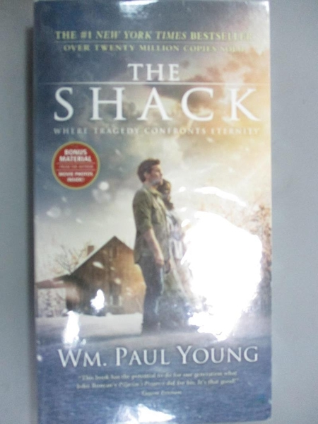 【書寶二手書T6/原文小說_ISY】The Shack: Where Tragedy Confronts Eternity_Young, Wm. Paul