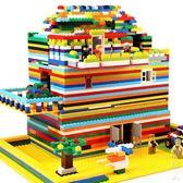 積木玩具3-6周歲兒童益智塑料小顆粒拼裝男女孩子7-8-10 街頭潮人