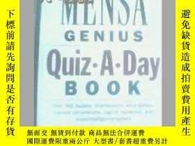 二手書博民逛書店罕見英文原版 The Mensa Genius Quiz-a-d
