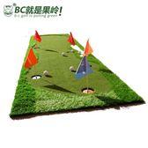 高爾夫練習毯 高爾夫推桿練習器 家庭訓練推桿果嶺 快球速    0.8*3.5米 1推桿 6顆球 5旗子  潮先生DF