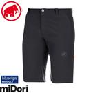 【MAMMUT 長毛象 Runbold Shorts男休閒短褲《黑》】1023-00170/運動短褲/機能短褲/登山/健行