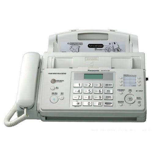 【Panasonic】國際牌 轉寫式傳真機 KX-FP711TW※台松公司貨※