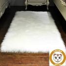床邊地毯臥室仿羊毛地毯飄窗長毛地墊子【小獅子】