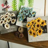 創意相框仿真花假花玫瑰花套裝家居飾品客廳擺件塑料花盆栽干花  瑪奇哈朵