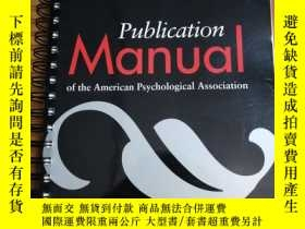 二手書博民逛書店Publication罕見Manual of the Ameri