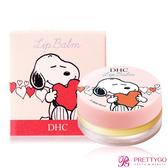 DHC 純橄欖護唇膏 史努比聯名限定版(7.5g)-圓罐粉色【美麗購】