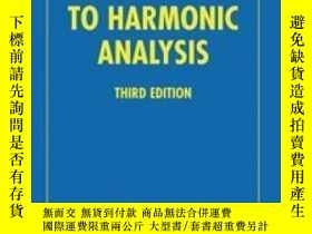 二手書博民逛書店An罕見Introduction To Harmonic Analysis (cambridge Mathemat