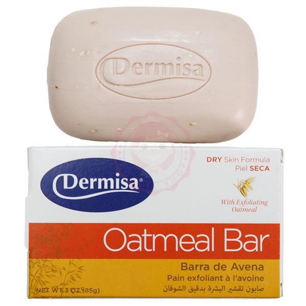美國 Dermisa 去角質燕麥皂(85g)【庫奇小舖】