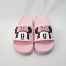 DISNEY 迪士尼正版 米妮 中童 運動 防水輕量拖鞋 120267CPNK 粉【iSport愛運動】