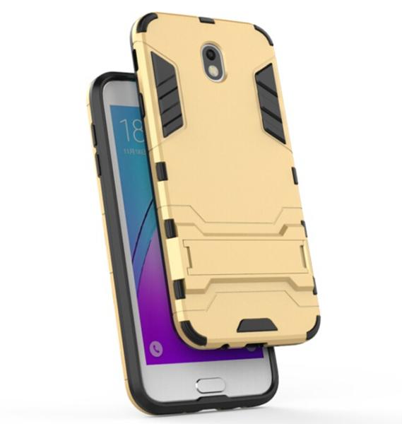 三星 Galaxy J7 Pro 變形盔甲保護套 軟殼 鋼鐵人馬克戰衣 防摔 全包帶支架 矽膠套 手機套 手機殼