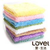 里和Riho LOVEL超強吸水輕柔微絲多層次開纖紗手帕/小方巾 20x11cm 6色可選 毛巾 MIT台灣製造