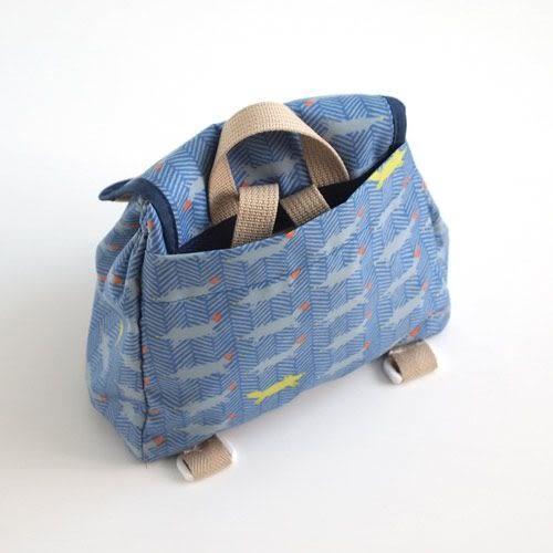 【日本 Hoppetta】元氣小狐狸小童包