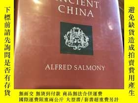 二手書博民逛書店Carved罕見jade of ancient china 中國