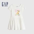 Gap女幼童 Gap x Disney 迪士尼系列洋裝 824868-白色