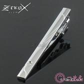 領帶夾 男士 銀色領夾正裝商務時尚簡約禮盒裝 Zeroxclub
